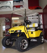 2012 EZGO TXT street worthy custom golf car