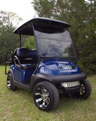4 Passenger Club Car with tempest wheels
