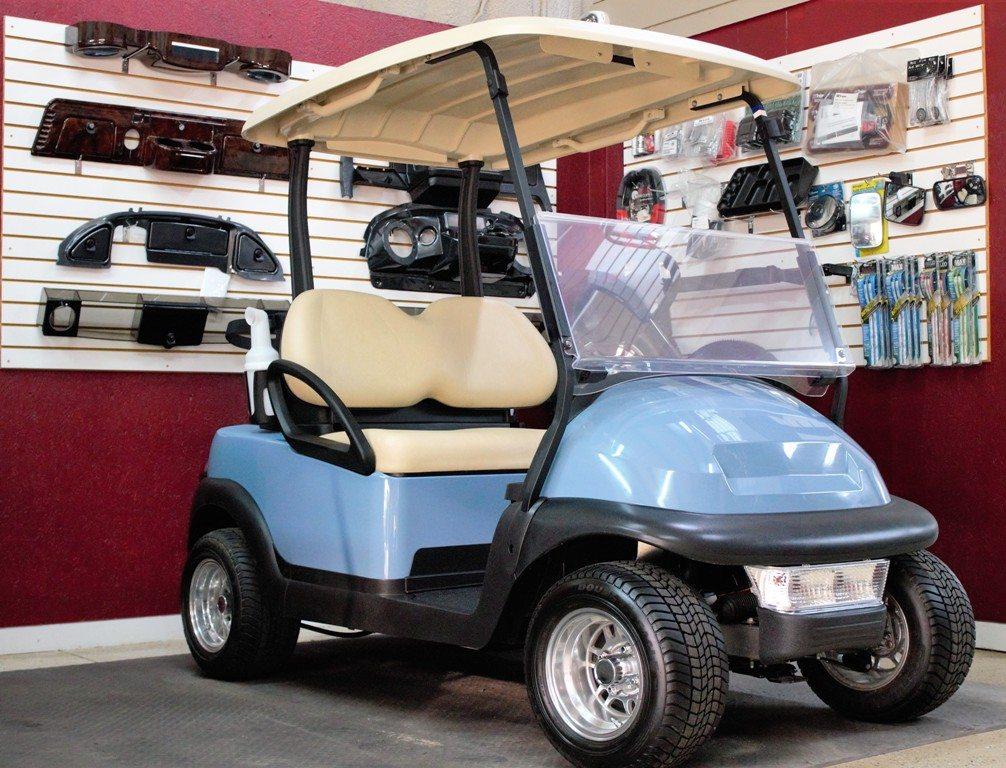 Baby blue CC golf ready