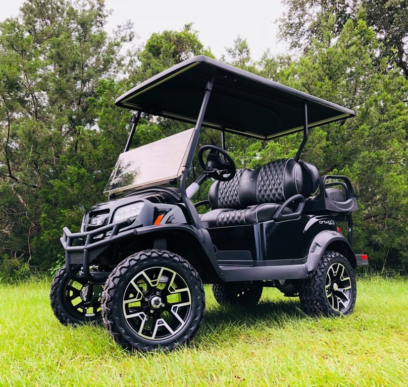 2019 Limited Edition Black Lifted Onward PTV 4 Passenger Custom Embroidered Seats A Must See at $12000