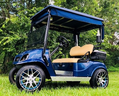 blue ezgo titan for web custom build