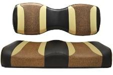 Black Autum Harvest w/Brown Ostrich Rear Seat
