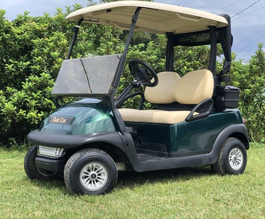 2017 Metallic Green Club Car Precedent