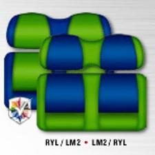 Royal/Lime * Lime/Royal